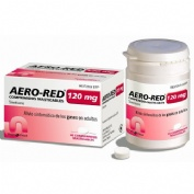 AERO-RED 120 mg COMPRIMIDOS MASTICABLES, 40 comprimidos