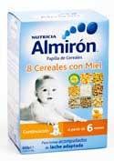 Almiron 8 cereales con miel 600 g