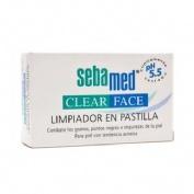 Sebamed limpiador pastilla - clear face (100 g)