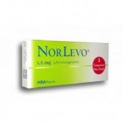 NORLEVO 1500microgramos comprimido 1